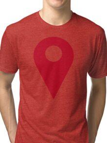 I'm here Tri-blend T-Shirt