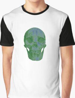 Glowing Skull Weird Random Creepy Graphic T-Shirt