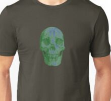 Glowing Skull Weird Random Creepy Unisex T-Shirt