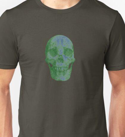 Glowing Skull Weird Random Creepy Unisex T-Shirt