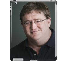 Gabe Newell Steam God iPad Case/Skin