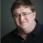Gabe Newell Steam God by Marmbo