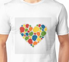 Heart a head Unisex T-Shirt