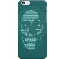 Techno Cyberpunk Cool Creepy Retro AI iPhone Case/Skin