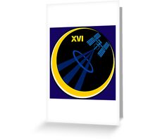 International Space Station - ISS 16 Greeting Card