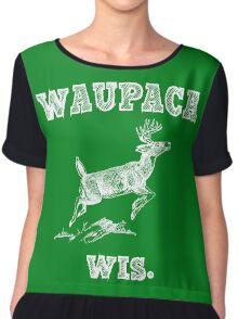 Waupaca Wis. shirt - Original  Chiffon Top