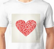 Heart the person Unisex T-Shirt