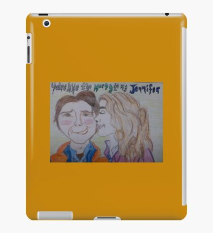 The Marty to my Jennifer iPad Case/Skin