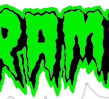 The Cramps (green) Sticker