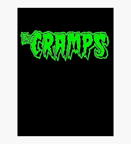 The Cramps (green) Photographic Print