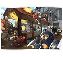 Team Fortress 2 2Fort Poster