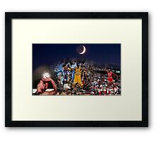 From Mj to Kobe to Curry - 2015-16 regular season last day Framed Print