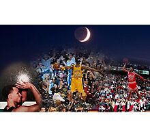 From Mj to Kobe to Curry - 2015-16 regular season last day Photographic Print