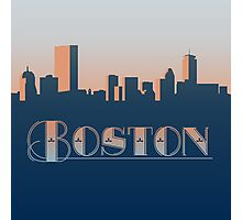 Boston Sunset Photographic Print