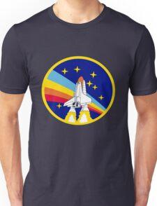 Space Shuttle Rainbow - Vintage Icon Unisex T-Shirt