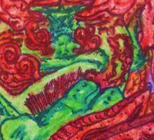 Ganja Guardians #5:OG {Trippy} Sticker