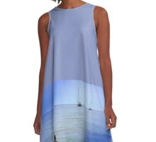 a dive where the water is bluer A-Line Dress
