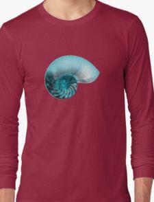 Nautilus Cool Sea Ancient Golden Ratio Chill Long Sleeve T-Shirt