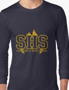 sunnydale high school t shirt Long Sleeve T-Shirt