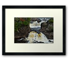 Potato River Falls 2 Framed Print