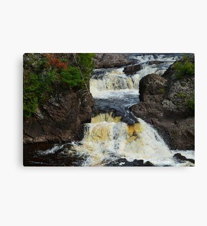 Potato River Falls 2 Canvas Print