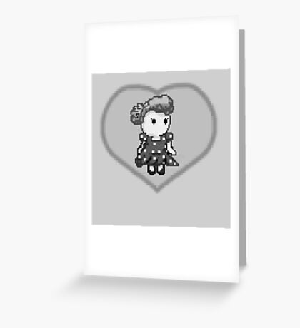 Lucy pixel Greeting Card