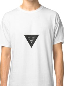 Sunday Assembly Black Triangle Classic T-Shirt
