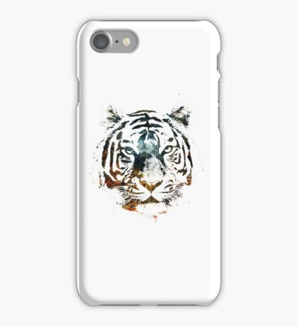 Tiger Cool Chill Space Modern Street Art iPhone Case/Skin