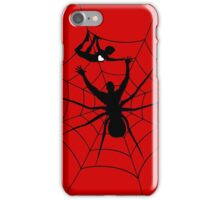 Man a spider iPhone Case/Skin