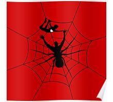 Man a spider Poster