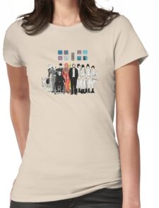 Stanley Kubrick Womens Fitted T-Shirt