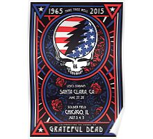 Grateful Dead - Fare Thee Well - 50 years (number 6) Poster