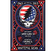 Grateful Dead - Fare Thee Well - 50 years (number 6) Photographic Print