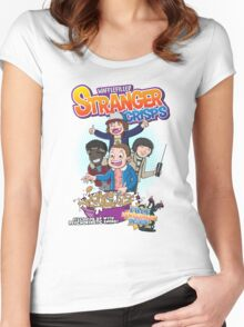 Stranger Crisps Women's Fitted Scoop T-Shirt