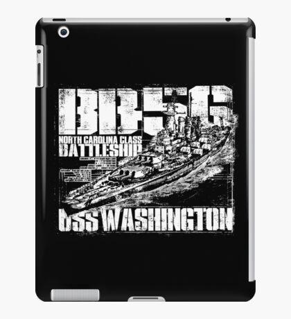 Battleship Washington iPad Case/Skin