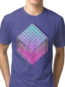 Trine-Glitch Tri-blend T-Shirt