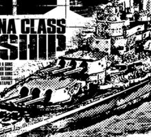 Battleship Washington Sticker