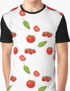 tomatoes on white Graphic T-Shirt