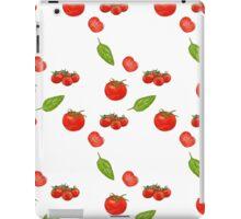 tomatoes on white iPad Case/Skin