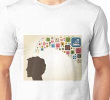 Think the man Unisex T-Shirt