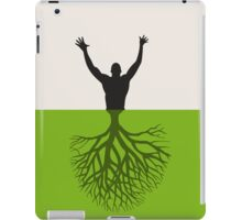 Tree the person iPad Case/Skin