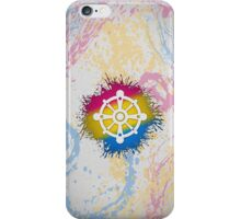 Pansexual Pride Wheel of Dharma iPhone Case/Skin