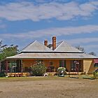 Cecil Plains Homestead, Queensland  by Margaret  Hyde
