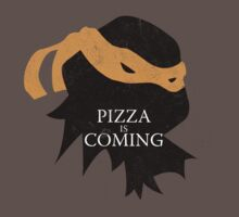Pizza is Coming One Piece - Short Sleeve