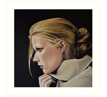 Gwyneth Paltrow Painting Art Print