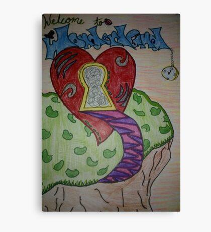 Wonderland Adventure Canvas Print
