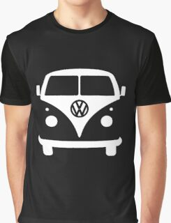 VW splittie bus outline_ Kombi outline Graphic T-Shirt