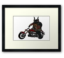 Sir Wardwarf Framed Print