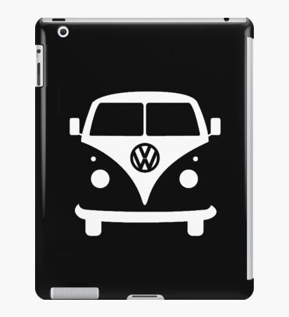 VW splittie bus outline_ Kombi outline iPad Case/Skin