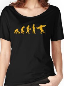 The Big Lebowski evolution yellow Women's Relaxed Fit T-Shirt
